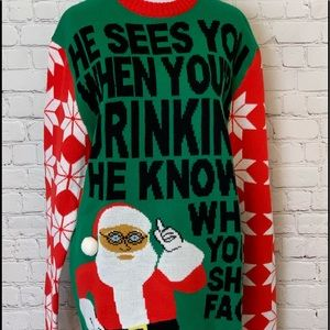 Sweaters - Ugly Sweater- Holiday Party..  NWT